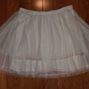 Free People Tulle Skirt: Size M